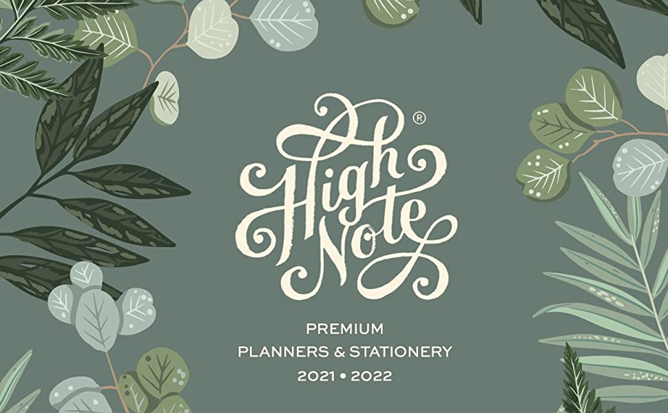 High Note Planners and stationery by sellers Publishing