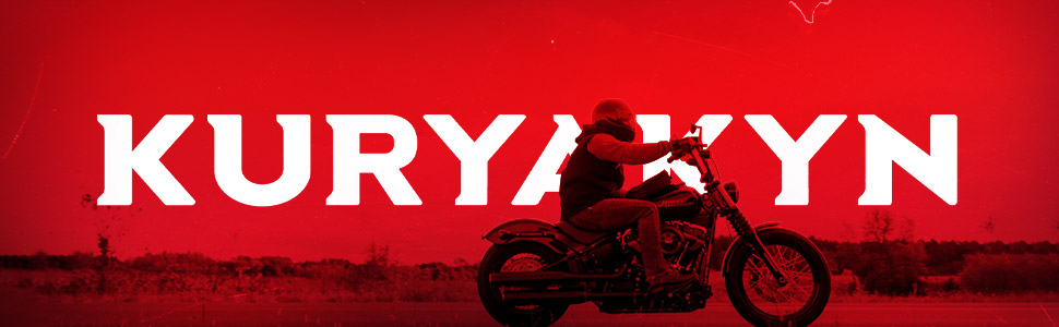Kuryakyn motorcycle comfort riding long touring foot and toe rests for safety and duration.