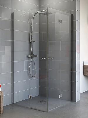 Gut bekannt Schulte Duschkabine Alexa Style 2.0 Dreh-Falttür Eckeinstieg, 80 x IF71