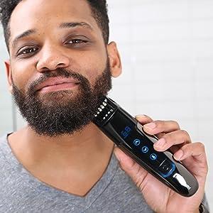 remington smart beard trimmer digital display