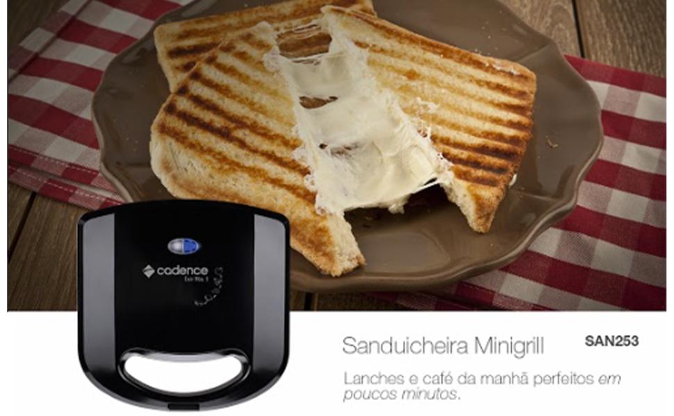 Sanduicheira Minigrill Cadence
