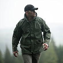 A man wearing Truspec jacket