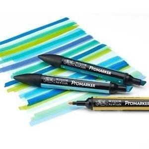 Winsor & Newton ProMarker Pack de 6 marcadores, Multicolor, Set de ...