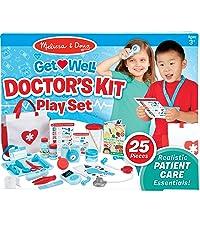 Amazon Com Melissa Doug Wooden Get Well Doctor Activity