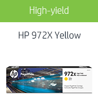 CNY Toner 3 Packs Compatible HP L0R92AN Remanufactured Yellow Ink HP 972A