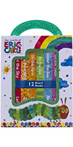 World of Eric Carle, My First Library Board Book Block 12-Book Set