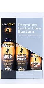 guitar care, guitar cleaner, guitar polish, fretboard oil, guitar accessories, guitar toools