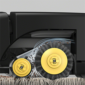 3-Stage Cleaning System