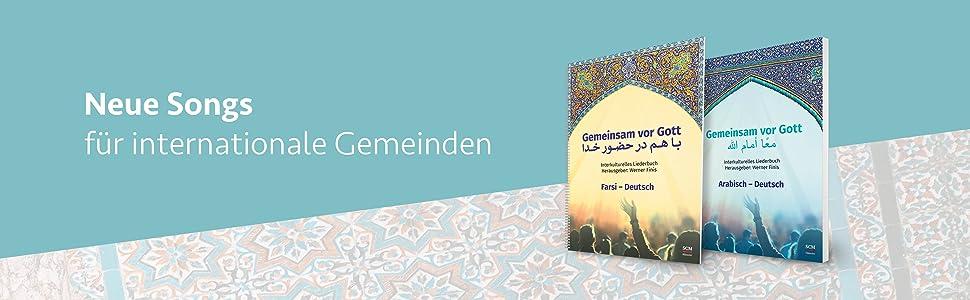 Liederbuch, Farsi, Arabisch, Lobpreis