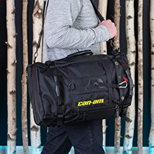 travel outdoors backpack can am can-am bag shoulder