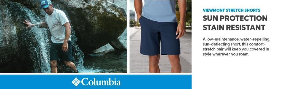 Columbia Men's Viewmont Stretch Shorts