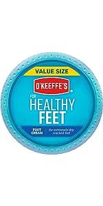 O'keeffe's Healthy Feet Value Size Jar