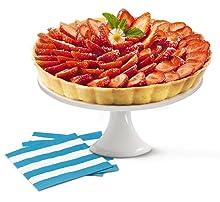 Tefal J4094215 Molde de Pastel, Apto para microondas, Horno y ...