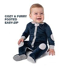 sleepsie cuddle footed romper baby pajamas PJs