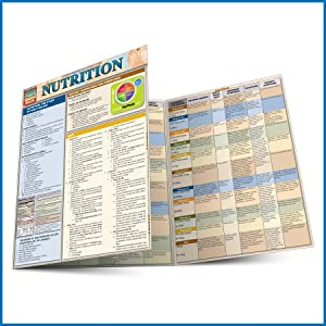 QuickStudy Quick Study Nutrition Laminated Study Guide BarCharts Publishing Health Reference Guides