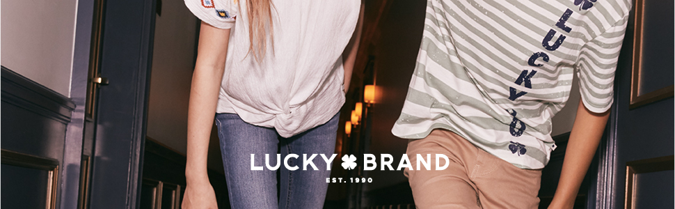 lucky brand, jeans, shorts, dresses, tee shirts