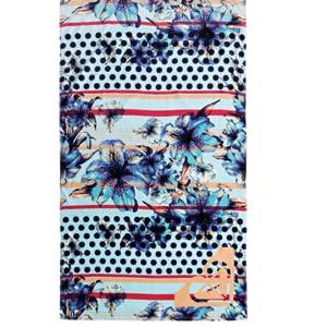 Bleu Beach Towel Femme Roxy Hazy Serviette de plage ONE SIZE