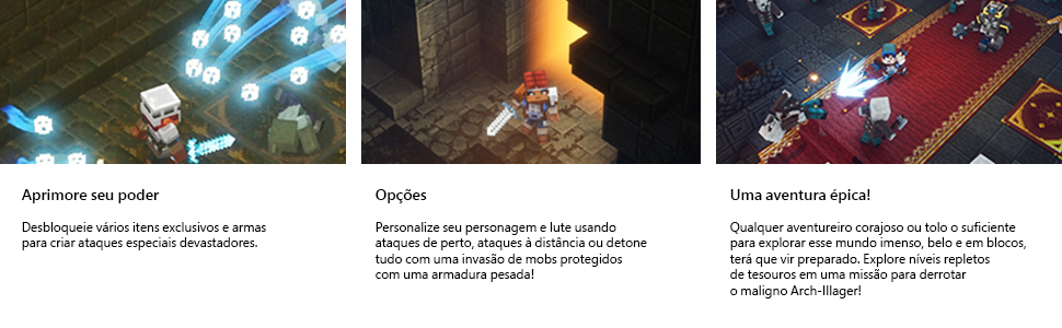 minecraft, minecraft dungeons, hero pass, xbox, jogos xbox one, xbox one, games, videogame, mojang