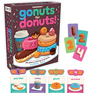 go nuts for donuts, gamewright