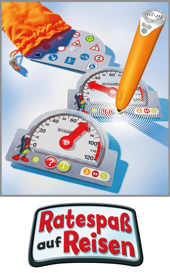 Ravensburger 00525 - Tiptoi Spiel Ratespaß auf Reisen