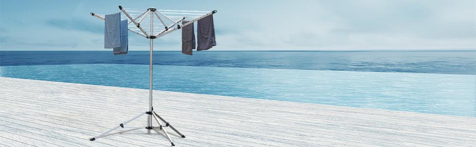 Amazon.com: Drynatural - Perchero plegable para secador de ...