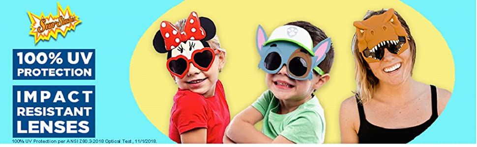 9c84c15ab4 Amazon.com  Sunstaches Nickelodeon Paw Patrol Chase Sunglasses ...