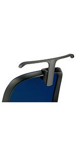 プラス デスクチェア オフィスチェア フィータ fita 専用 ジャケットハンガー HG-FT-BK 657-699