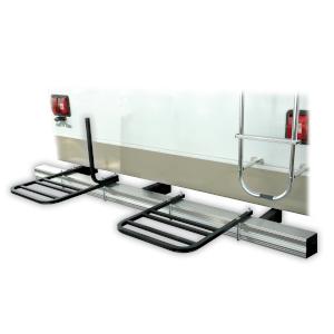 RV bumper rack for 2 bikes