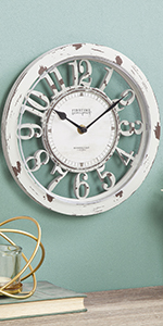 Steel small clock