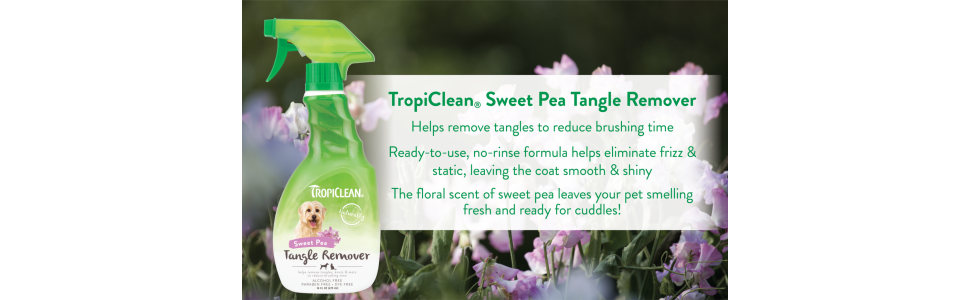 TropiClean Sweet Pea Tangle Remover