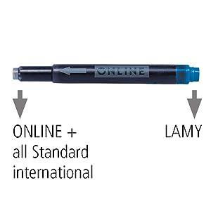 Cartucho de tinta largo estándar lamy