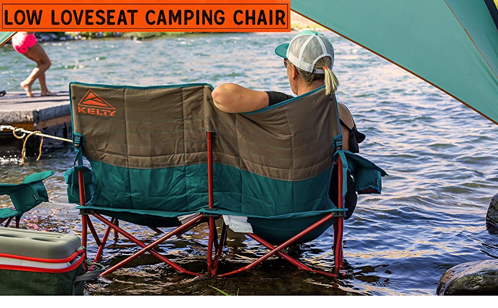 Excellent Kelty Low Loveseat Camping Chair Portable Folding Chair For Festivals Camping And Beach Days Updated 2019 Model Ibusinesslaw Wood Chair Design Ideas Ibusinesslaworg