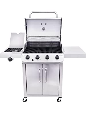 char;broil;exclusive;gas;grill;amazon;performance;stainless;steel;classic;four;burner;cabinet