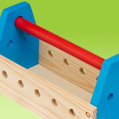 Amazon Com Melissa Amp Doug Take Along Tool Kit Wooden Toy