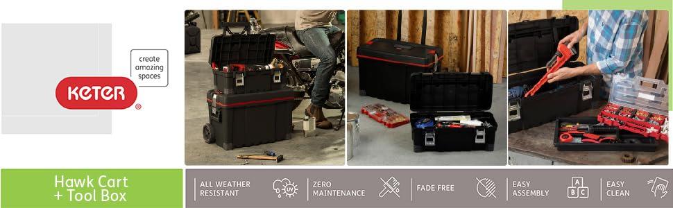 hawk cart + tool box