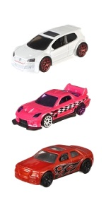 Hot Wheels Pack de 3 vehículos