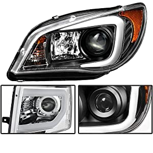 Spyder Auto Toyota Tacoma Black CCFL LED Projector Headlight