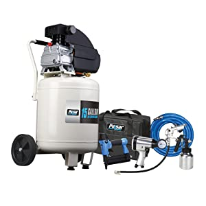 Pulsar 15 Gallon Vertical Tank Portable Electric Air Compressor