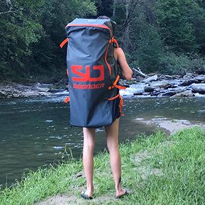 Swonder Classic Inflatable Stand Up Paddle Board backpack