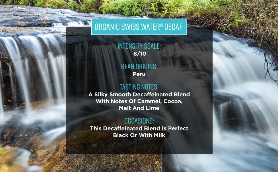 Oragnic Sweiss Water (R) Decaf