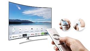 Samsung Q7C Curved QLED 4K TV oneremote