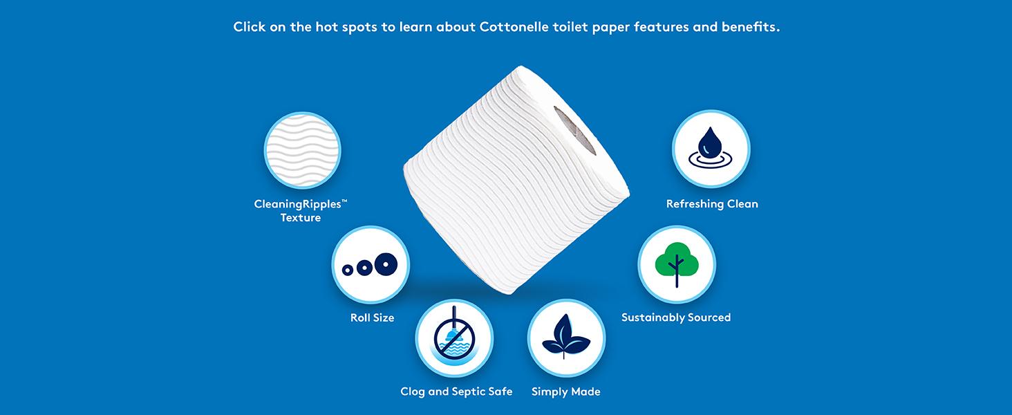 Cottonelle Ultra Clean Care Soft Toilet Paper