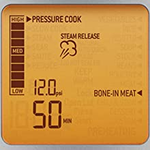steam release, psi, pressure cook