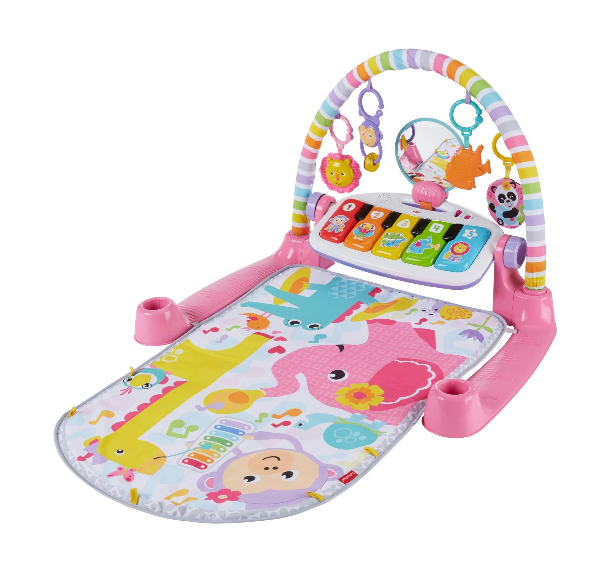 Amazon Com Fisher Price Deluxe Kick N Play Piano Gym