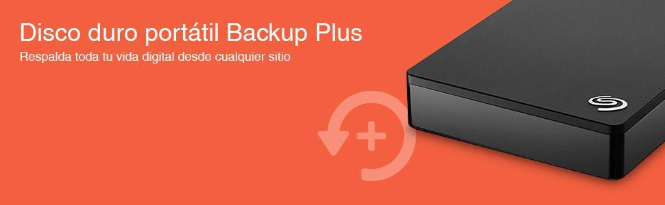Disco duro portátil Backup Plus