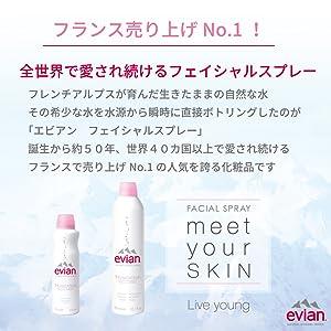 エビアン フェイシャルスプレー 導入化粧水 FACIAL SPRAY 乾燥 保湿 クールダウン