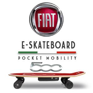 sakateboard, skate, patin, patinete, monopatin, fiat, fiat500, fiat 500, movilidad, transporte