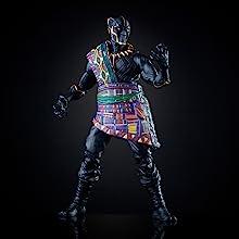 Marvel Legends Series Black Panther 6-inch TChaka Figure