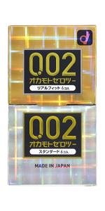 オカモトゼロツー0.02 アソート(リアルフィット6コ入+スタンダード6コ入)