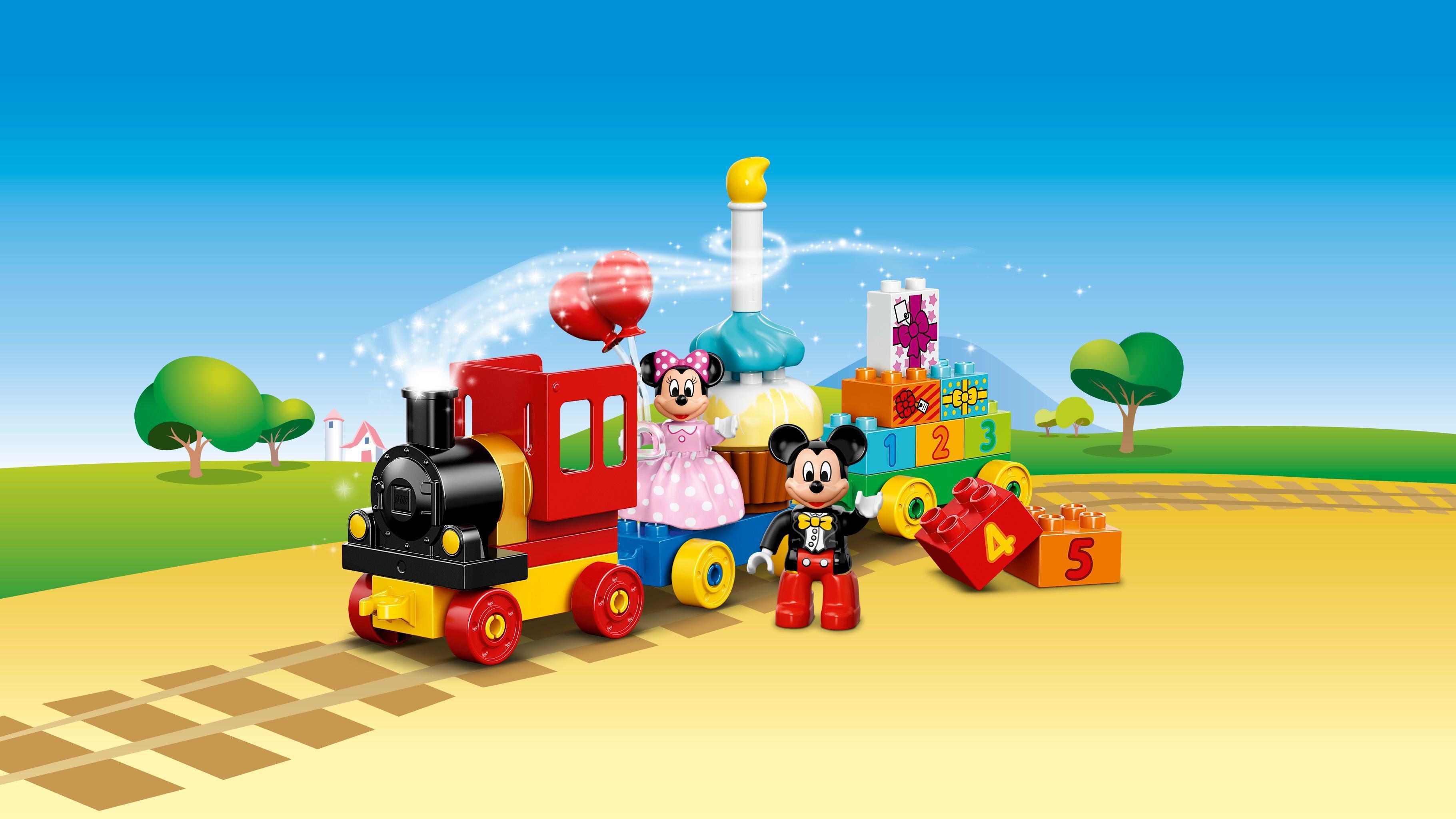 LEGO® -El Desfile de Cumpleaños de Mickey y Minnie Disney